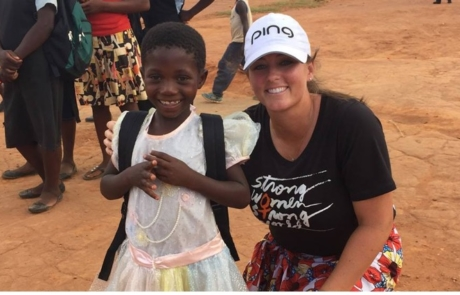 Kendall Dye Taking on Part-Time Role with Golf Fore Africa
